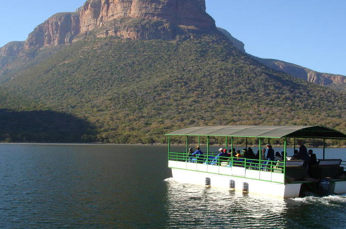 Full-Day Blyde Dam Cruise and Moholoholo tour from Hazyview