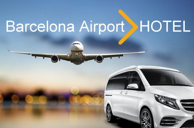 Barcelona Airport Transfer to Barcelona CITY (any Hotel or destination)