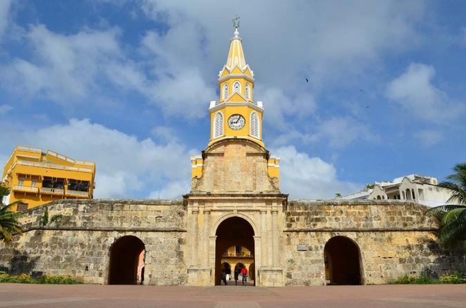 Cartagena de Indias Walking Tour with Interactive Audio Guide