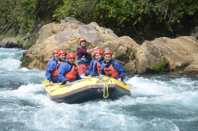 Tongariro river white water rafting adventure from taupo in turangi 192191