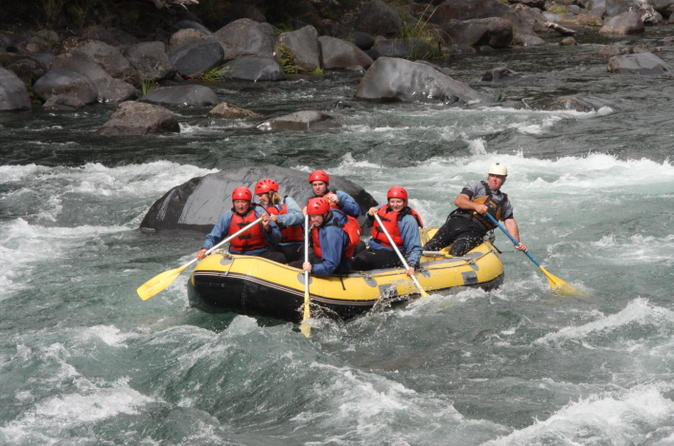 White water rafting tour with optional adventure packages in taupo 219710