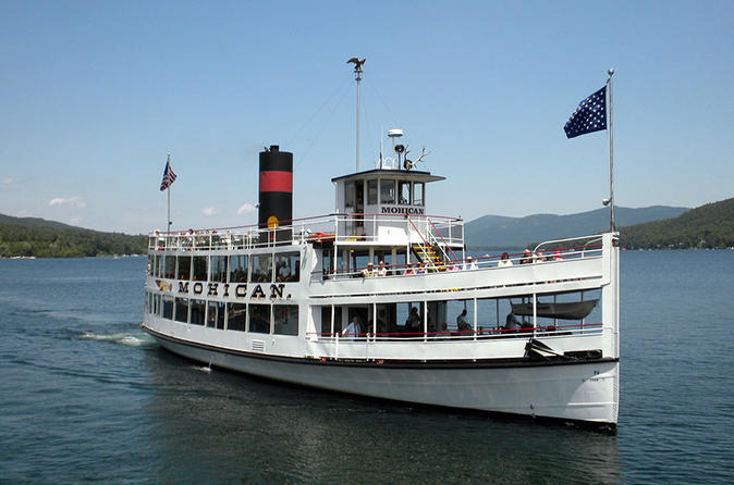 Lake george islands and paradise bay sightseeing cruise in new york state 202695