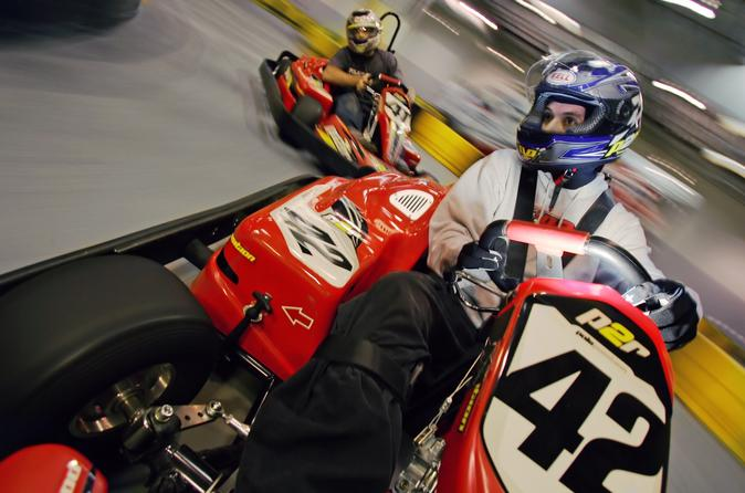 Las Vegas Indoor Kart Racing