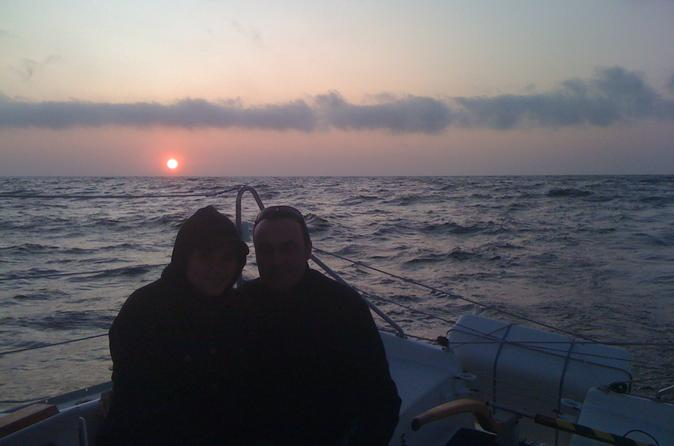 Monterey bay sunset sailing cruise with unlimited wine and beer in monterey 202132