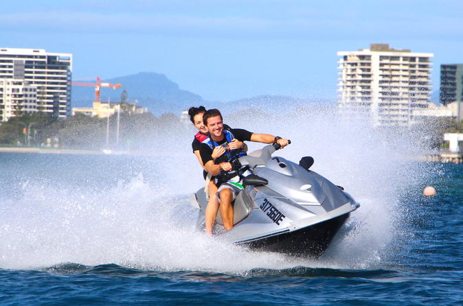 One-Hour Jet Ski Island Safari in Gold Coast