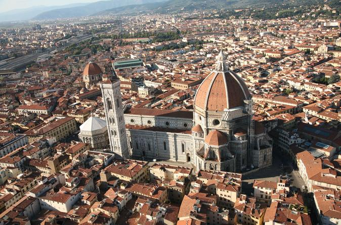 All Day Trip from Rome by fast train: Tour of Florence including Uffizi and Duomo