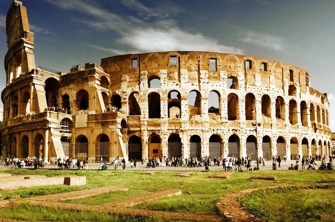Skip the Line: Colosseum and Ancient Rome Semi-Private Tour