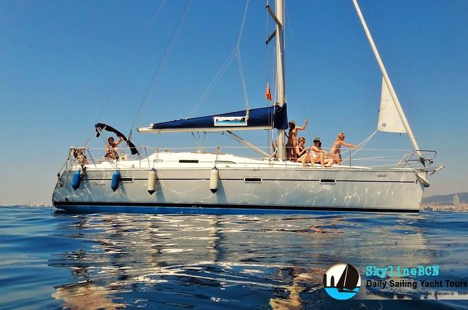 Private Sailing Trip with Skipper and Tapas Menu from Barcelona