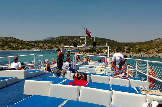 All Inclusive Daily Boat Trip Bodrum Peninsula