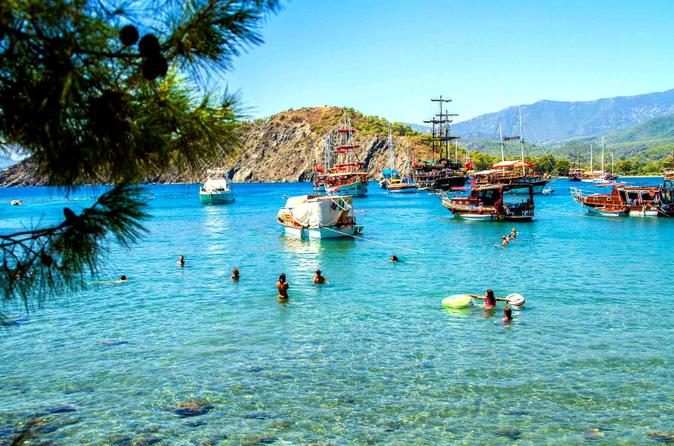 Boat tour on the beautiful bays of kemer and phaselis with lunch in kemer 207787