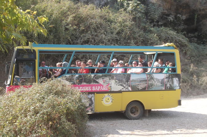 Cabrio bus safari day tour with a visit to antique city seleukeia and in side 203337