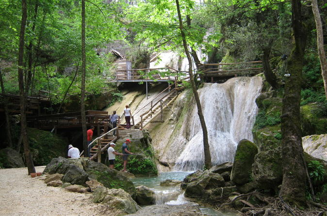 Hidden Paradise Manavgat Side Antique City and 3 Waterfalls Day Tour from Alanya