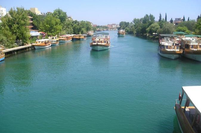 Manavgat river cruise with grand bazaar and lunch from side in side 196835
