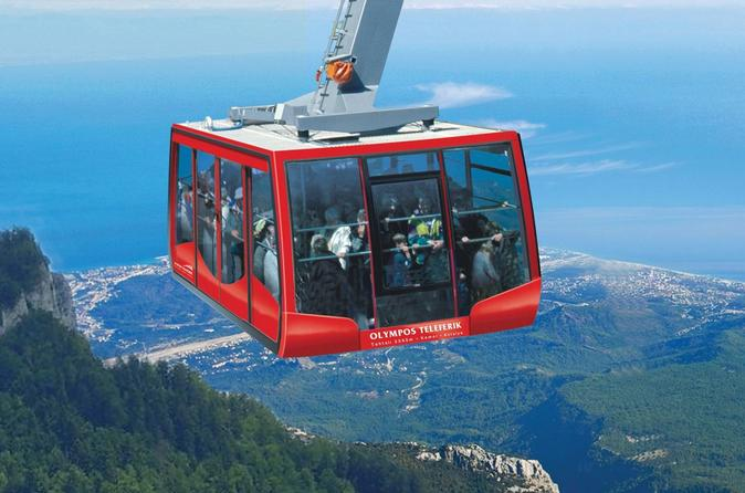 Olympos Cable Car Ride to Tahtali Mountains from Antalya