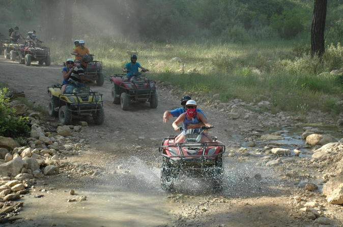 Quad bike safari in manavgat side at the taurus mountains in side 197056