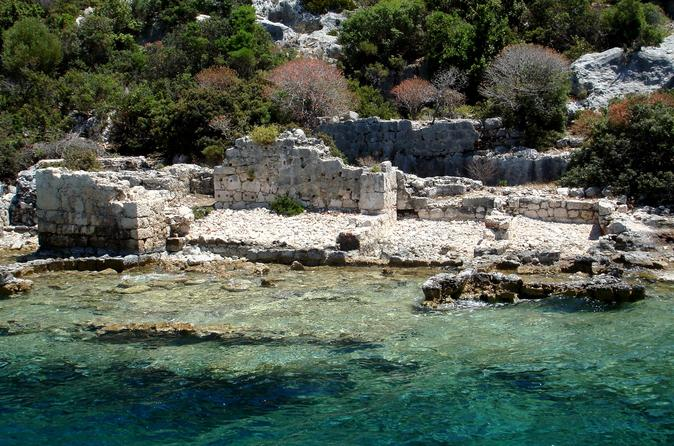 Sunken City Kekova, Demre, and Myra Day Tour from Belek