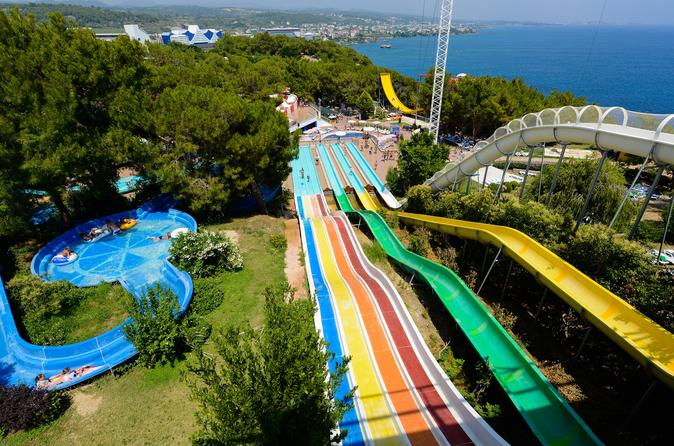 Waterplanet Aquapark from Side