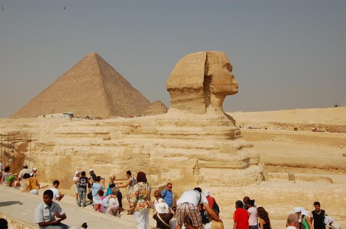 Descubra o Cairo, Pirâmides de Gizé e Museu Egípcio incluindo almoço