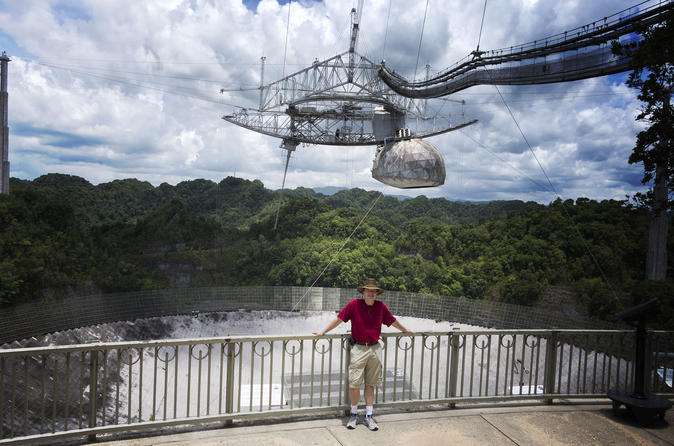 San Juan Day Trip to Rio Camuy Caves and Arecibo Observatory