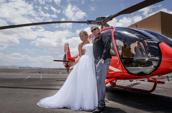 Las Vegas Helicopter Wedding Ceremony The Grand Canyon In United States North America