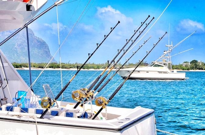 Private Full-Day or Half-Day Big Game Fishing Excursion in Mauritius