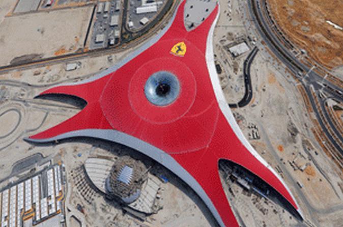 Abu Dhabi Ferrari World Entrance Ticket with Return Transfer from Dubai