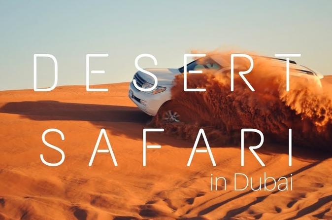DESERT SAFARI - THE BEST ACTIVITY TO DO IN DUBAI