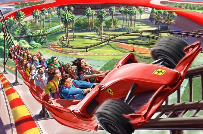 O Ferrari World com traslados de Dubai