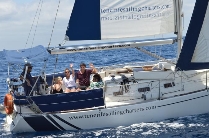 Private Whale Watching and Sailing Tour in Tenerife