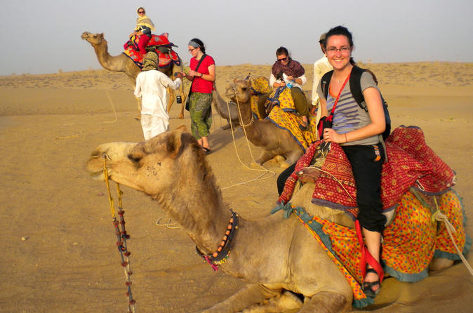 Evening Private Osian Tour with Camel Safari and Gala Dinner