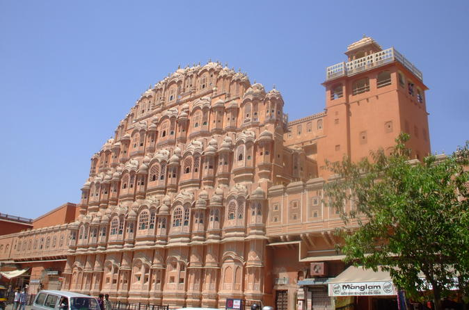 Jaipur pink city full day tour including lunch and elephant ride at in jaipur 238632