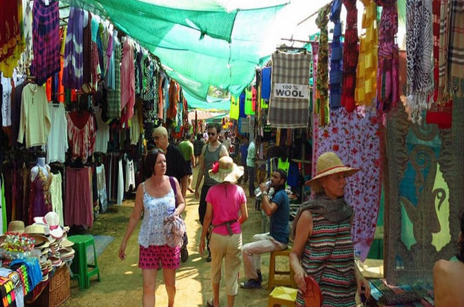 Private Anjuna Flea Market Tour with Local Guide Residences
