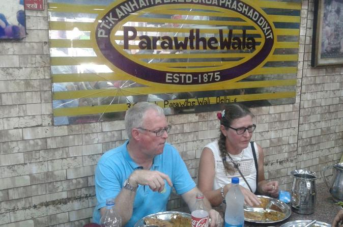 Private Old Delhi Walking Tour Including Rickshaw Ride Famous Foods