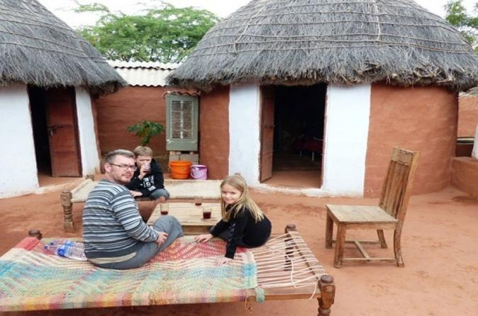 Private Tour of Bishnoi Village Safari with Rajasthani Lunch