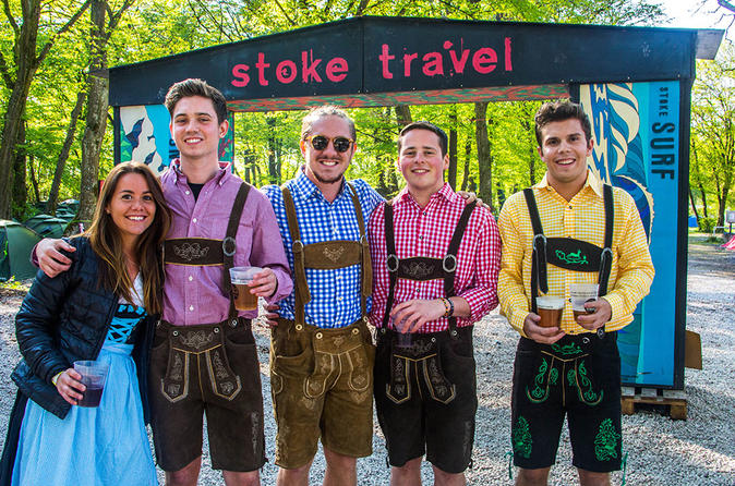 Munich Springfest Overnight Camping Package Including Breakfast and Dinner