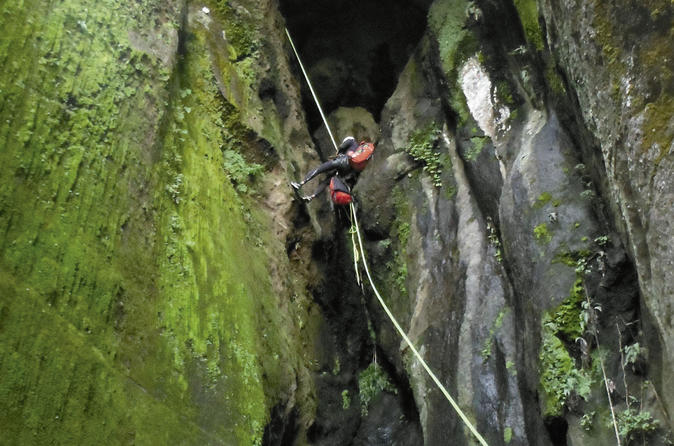 Ca n del tesoro canyoning adventure in cuernavaca 295329