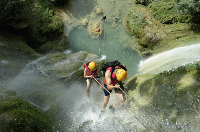 Day tour canyoning at mil cascadas from cuernavaca in cuernavaca 279364