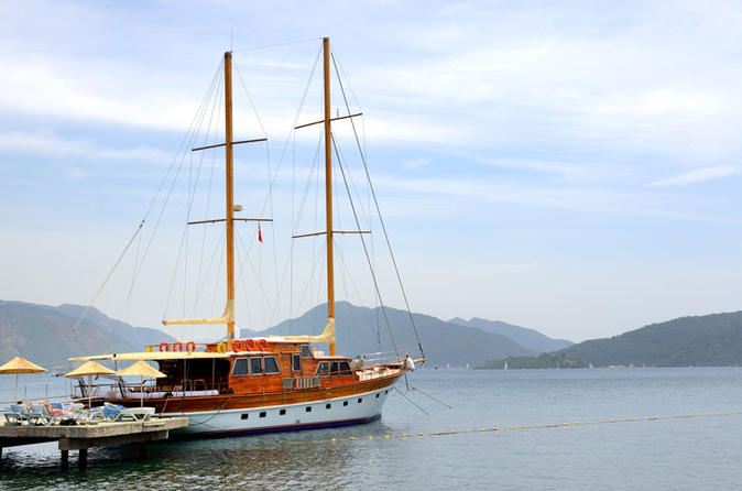 8-Day Magical Gulet Cruise In Bodrum Including Meals And Crew