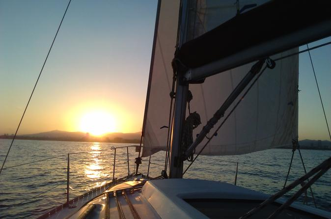 Small Group Sunset Cruise in Barcelona
