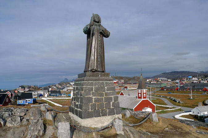 Historical city walk of nuuk in nuuk 210264