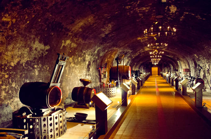 Champagne Day Tour from Paris : Reims-Cellars visit-Champagne Tasting
