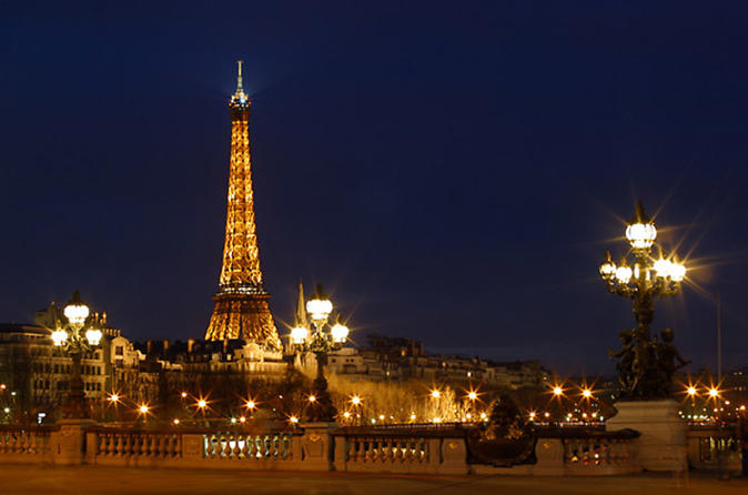 Paris by Night Sightseeing Tour
