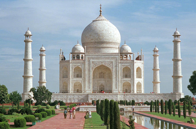 Full Day Taj Mahal & Agra Tour from Jaipur by Express Train