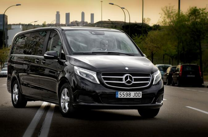 Luxury Van Transfer Madrid Airport to City Center, Avila or Toledo