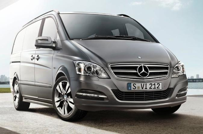 Moscow Vnukovo Private Airport Luxury Van Arrival Transfer