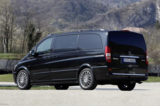 Moscow Vnukovo Private Airport Luxury Van  Departure Transfer