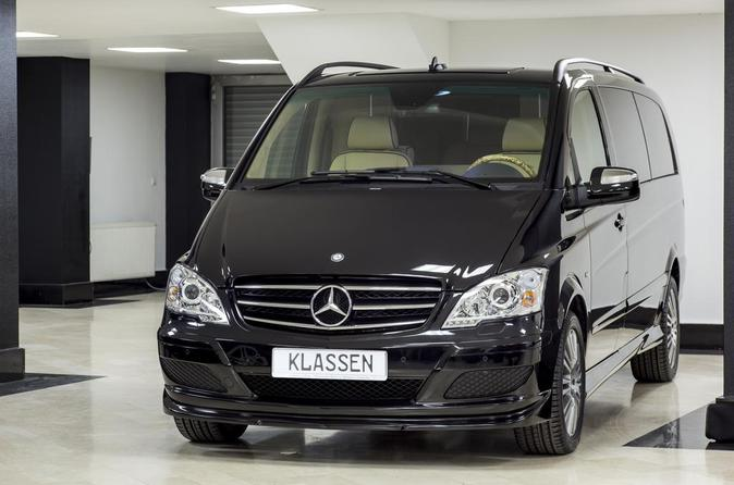 Private Departure Transfer: Central London to Heathrow Airport in a Luxury Van