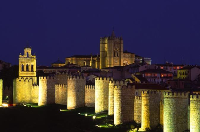 Private Transfer: Madrid to Avila City