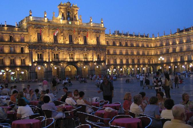 Private Transfer: Madrid to Salamanca