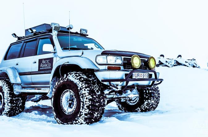 Private Golden Circle Super Jeep Glacier Tour from Reykjavik